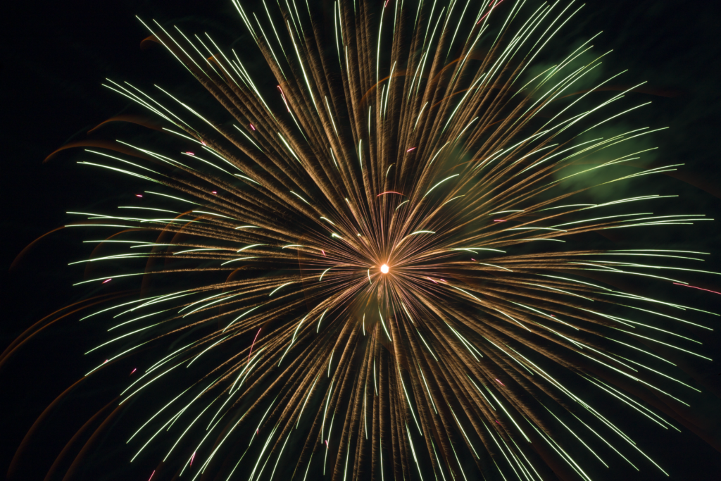 4th of july firework picture